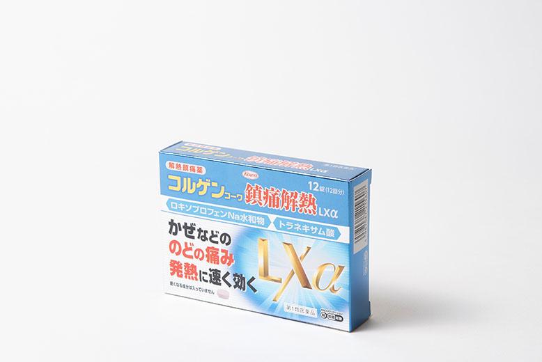 コルゲンコーワ鎮痛解熱LXα12錠の商品写真