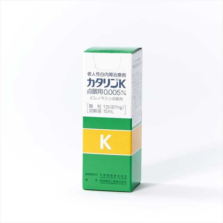 カタリンK点眼用0.005%の商品写真