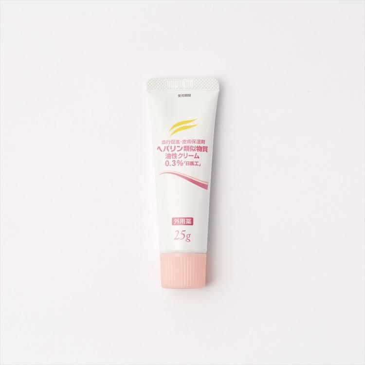 ヘパリン類似物質油性クリーム0.3%「日医工」の商品写真