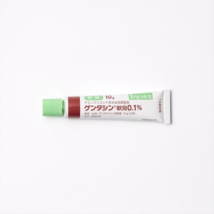 ゲンタシン軟膏0.1%の商品写真