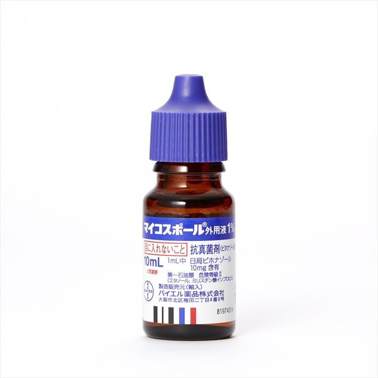 マイコスポール外用液1%の商品写真