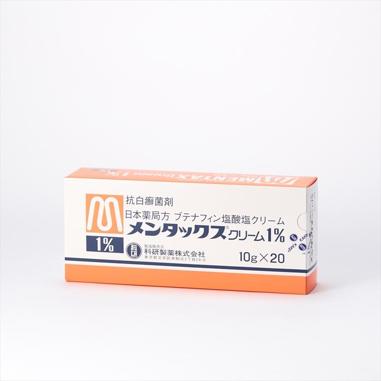 メンタックスクリーム1%の商品写真