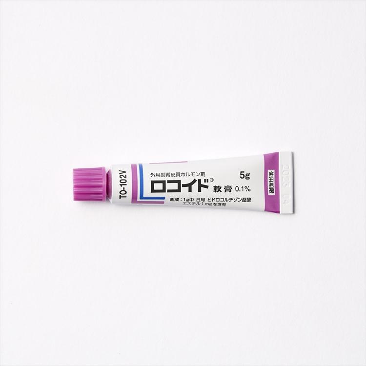 ロコイド軟膏0.1%の商品写真