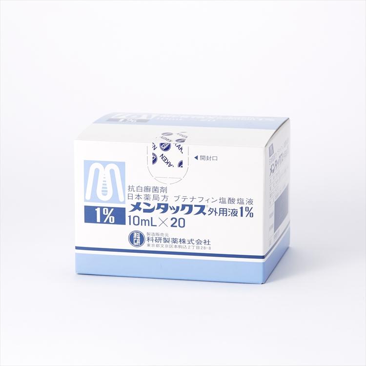 メンタックス外用液1%の商品写真