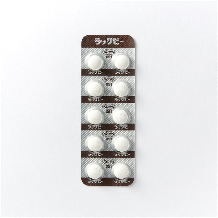 ラックビー錠の商品写真
