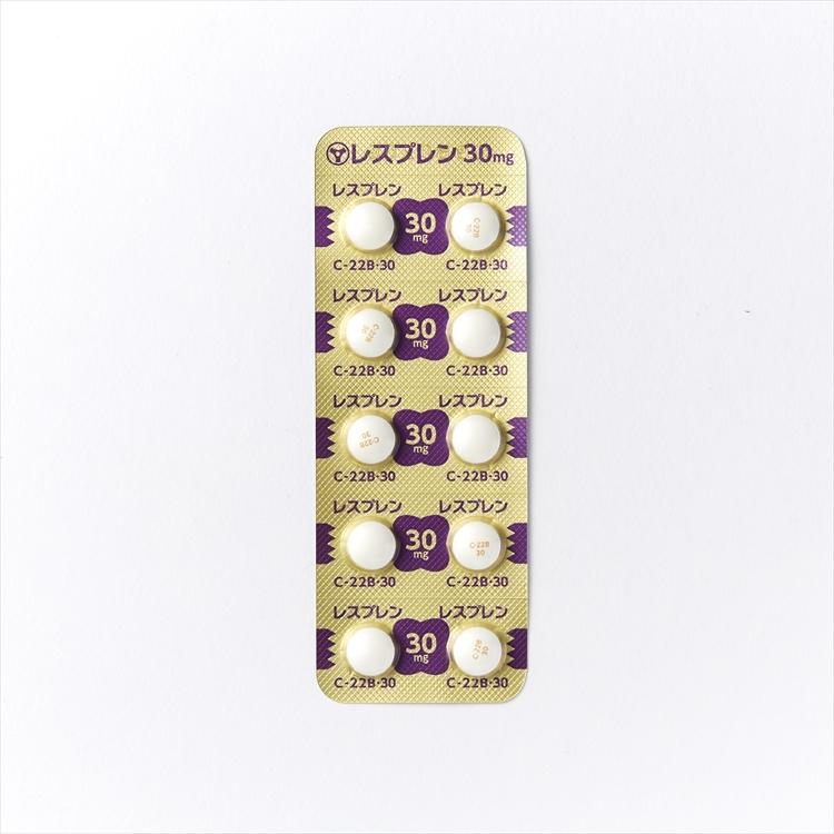 レスプレン錠30mgの商品写真