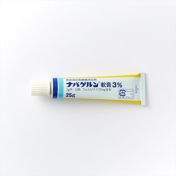 ナパゲルン軟膏3%の商品写真