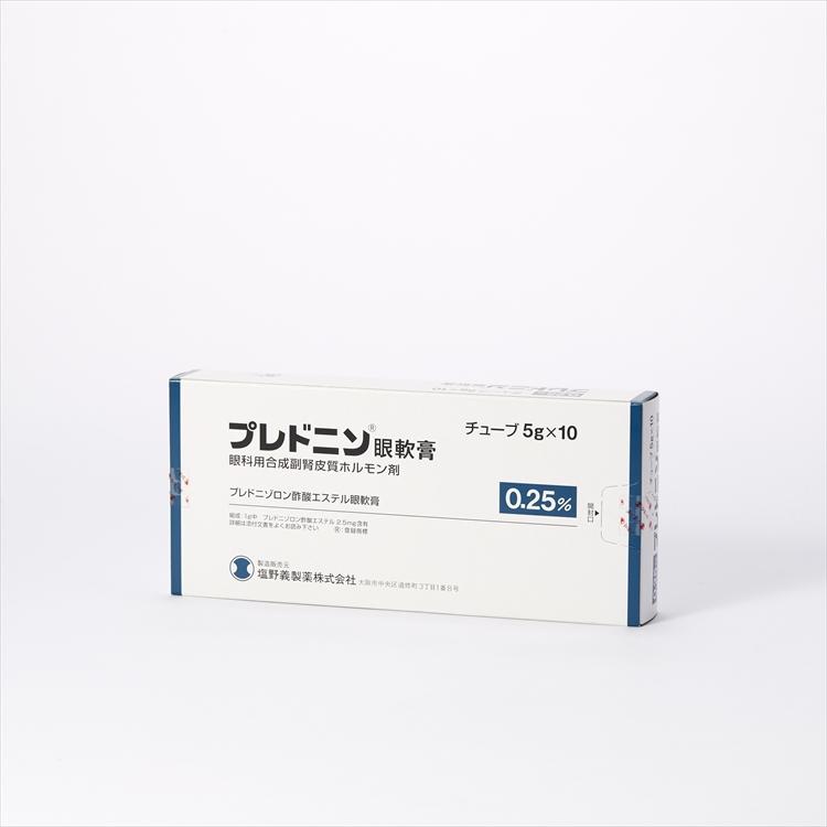 プレドニン眼軟膏の商品写真