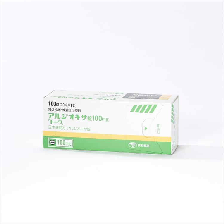 アルジオキサ錠100mg「トーワ」の商品写真