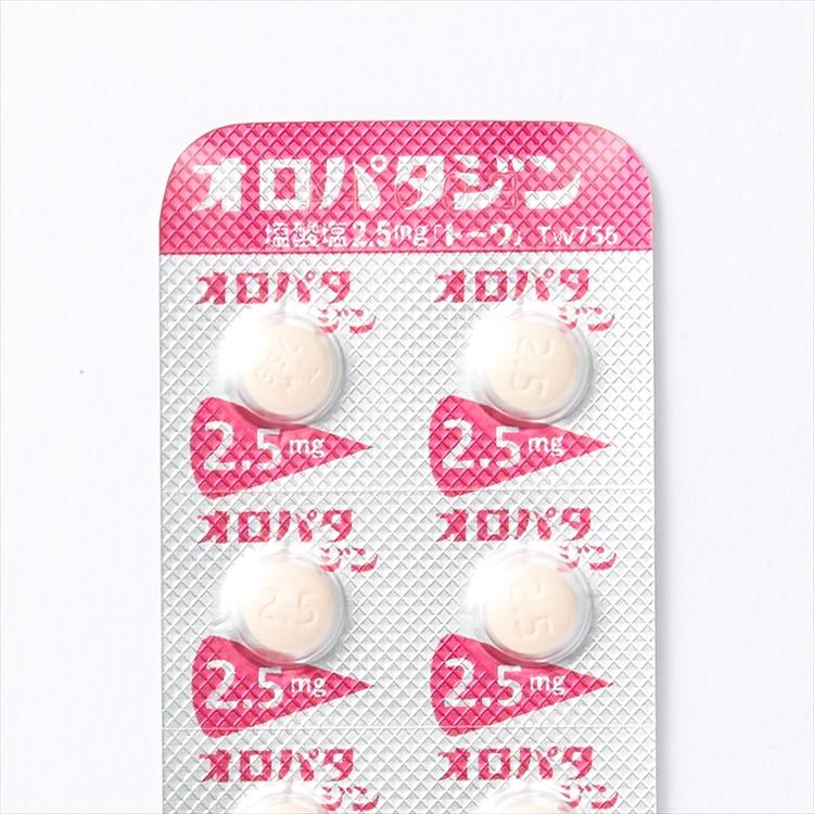 オロパタジン塩酸塩錠2.5mg「トーワ」の商品写真