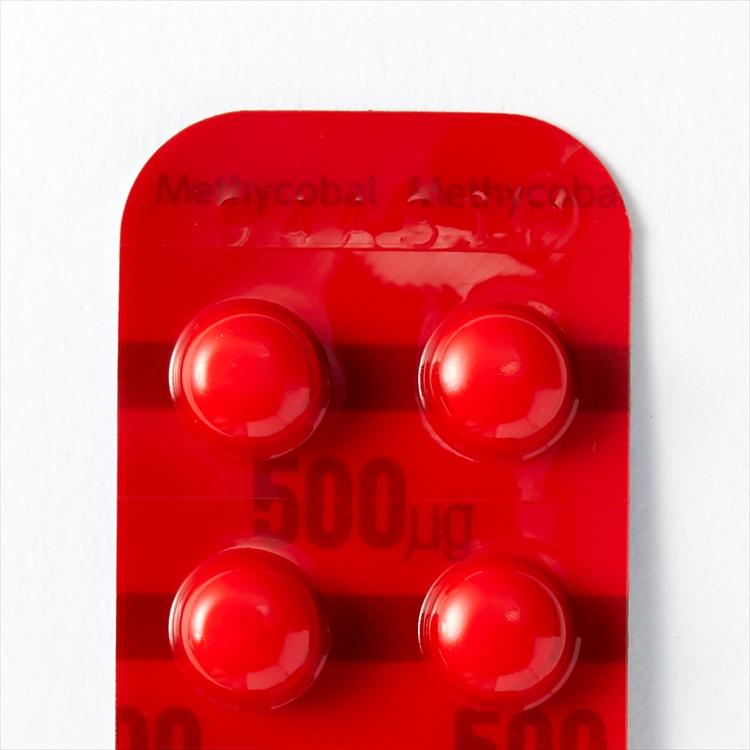メチコバール 錠 500μg メチコバール錠500μg【副作用と効果を知っておこう】
