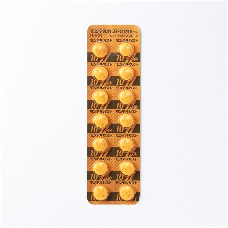 モンテルカストOD錠10mg「トーワ」の商品写真