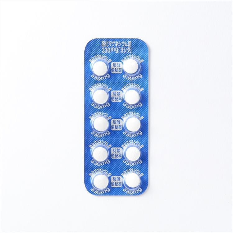 酸化マグネシウム錠330mg「ヨシダ」の商品写真