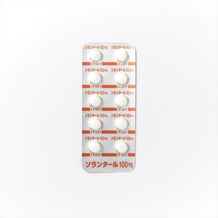 ソランタール錠100mgの商品写真