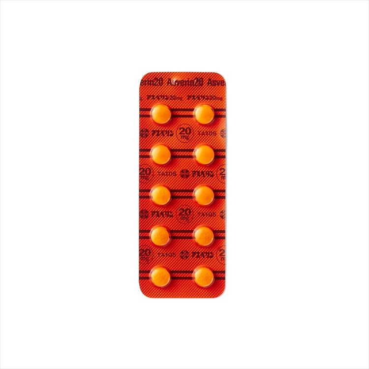 アスベリン錠20の商品写真
