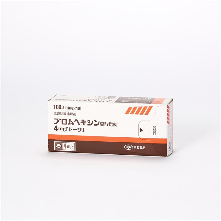ブロムヘキシン塩酸塩錠4mg「トーワ」の商品写真