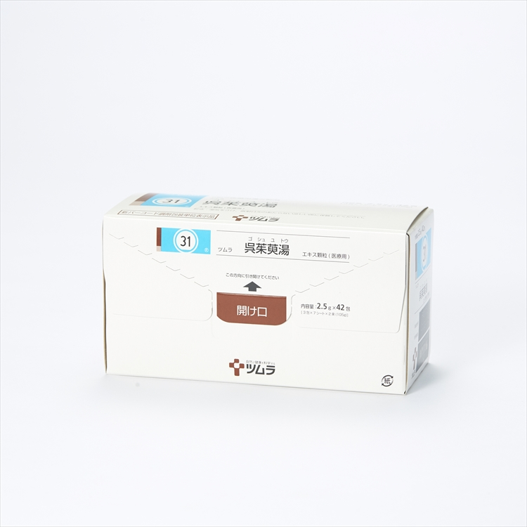 ツムラ呉茱萸湯エキス顆粒(医療用)の商品写真