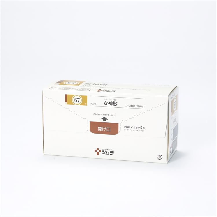 ツムラ女神散エキス顆粒(医療用)の商品写真
