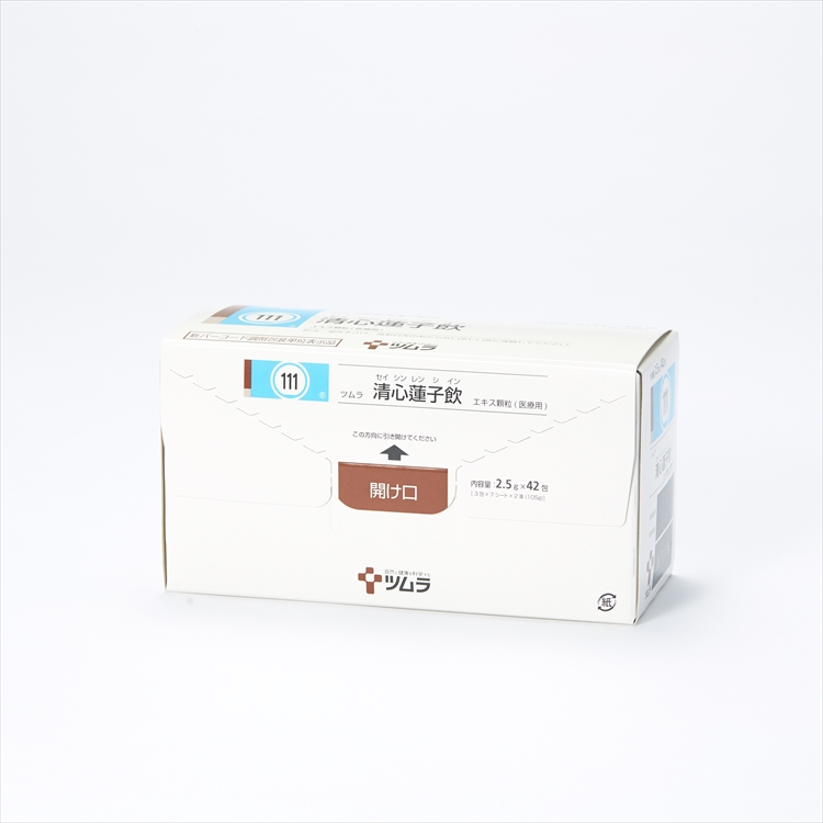 ツムラ清心蓮子飲エキス顆粒(医療用)の商品写真