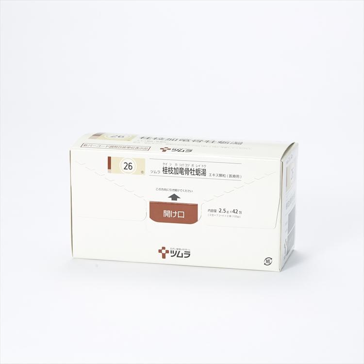 ツムラ桂枝加竜骨牡蛎湯エキス顆粒(医療用)の商品写真