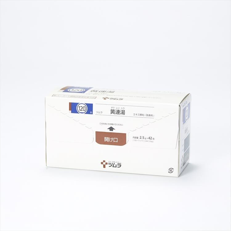 ツムラ黄連湯エキス顆粒(医療用)の商品写真