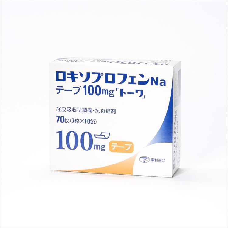 ロキソプロフェンNaテープ100mg「トーワ」の商品写真