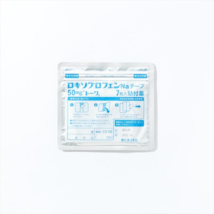 ロキソプロフェンNaテープ50mg「トーワ」の商品写真