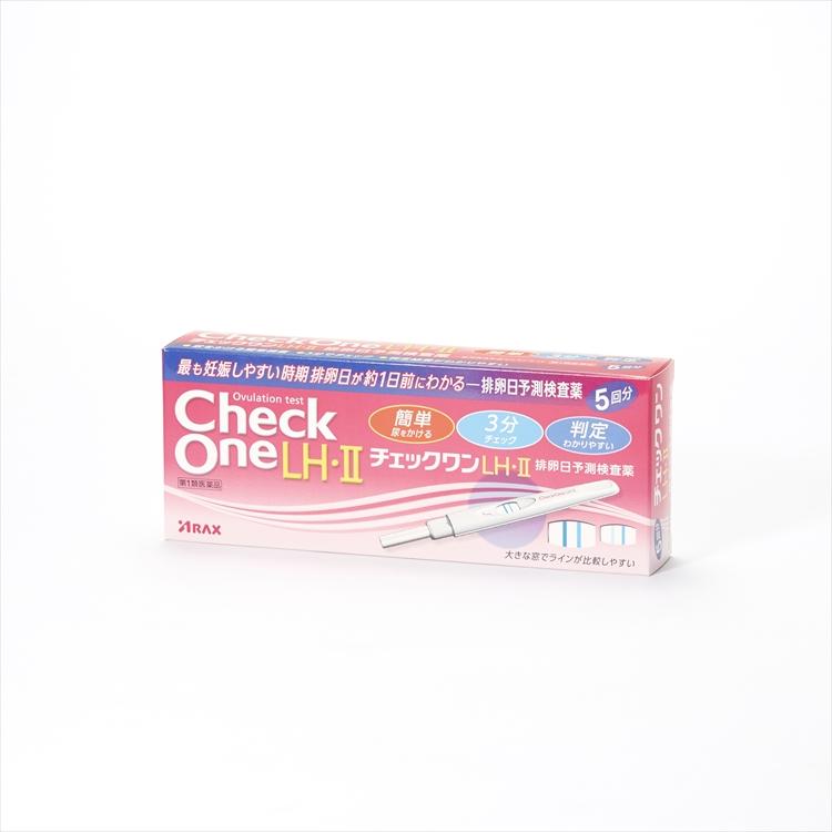 チェックワンLH・II排卵日予測検査薬5回用の商品写真